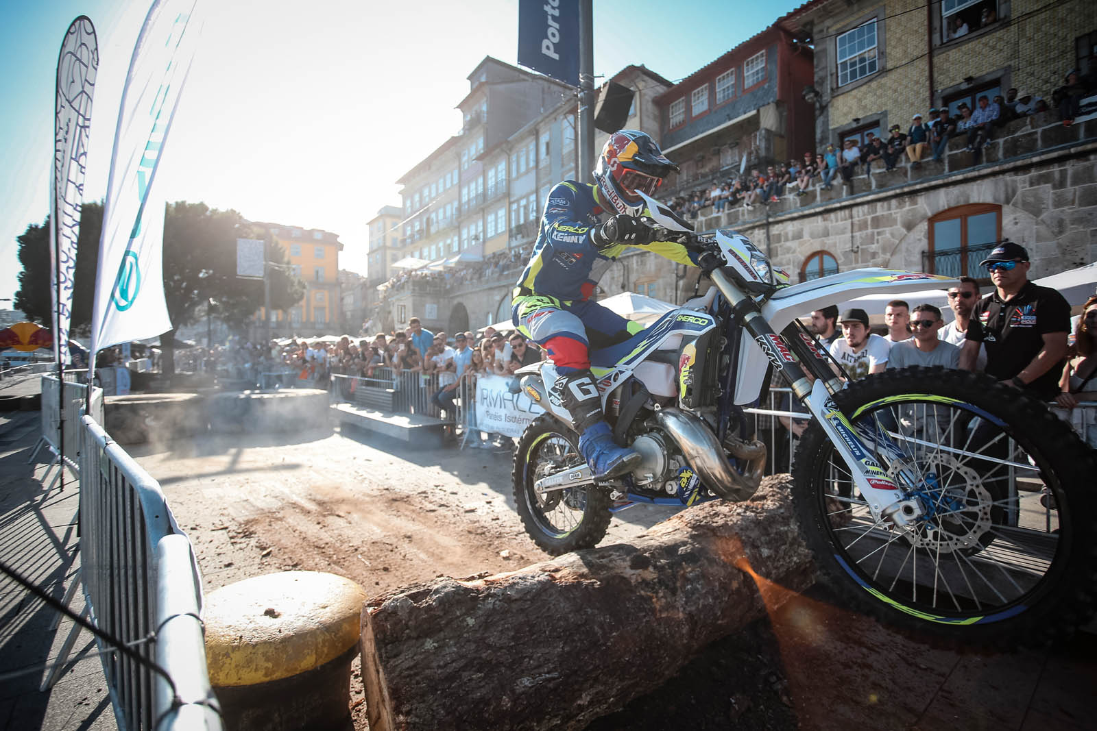 Wade Young races at Toyota Porto Extreme XL Lagares, Portugal on May 11, 2019
